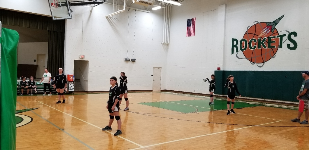 8th Grade Lady Rockets Volleyball vs North Adams