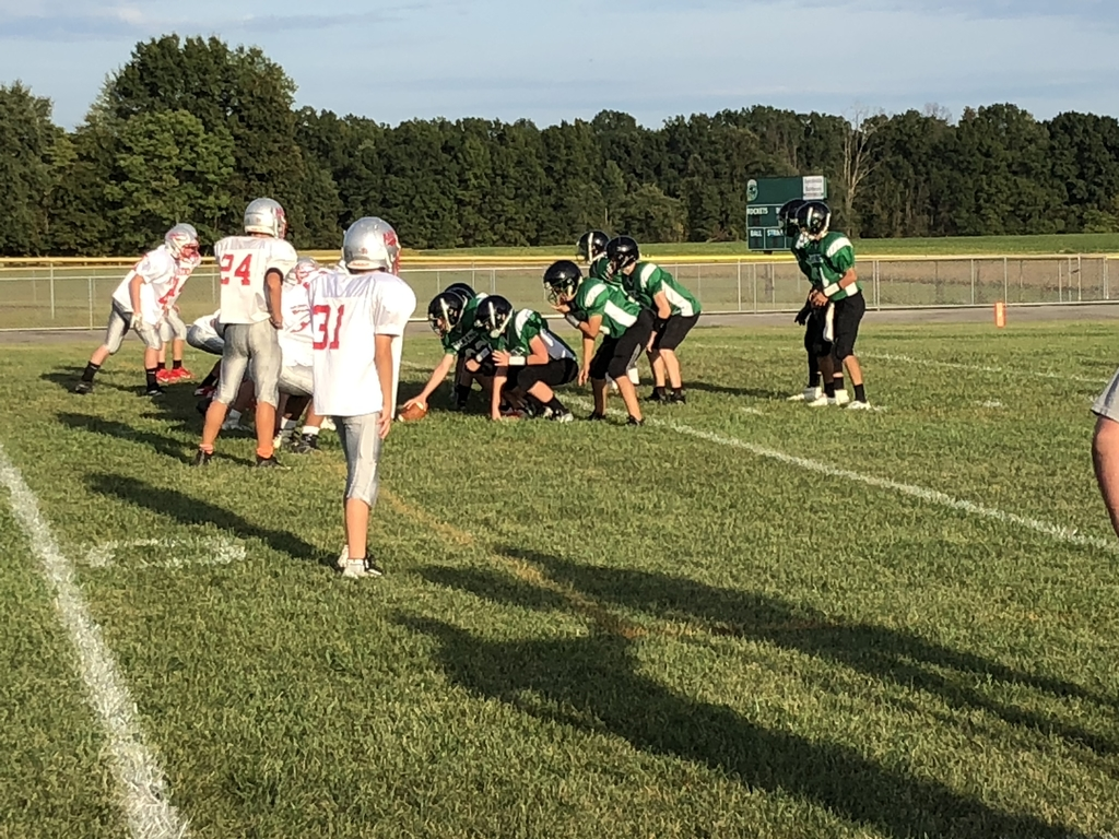 Fayetteville 7/8 football vs East Clinton. 6 - 14 in the 4th