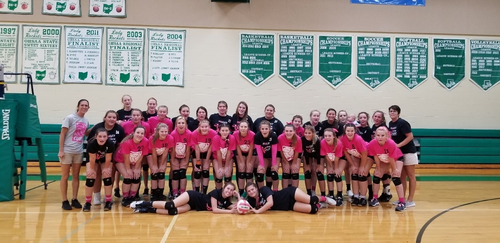 WhiteOak and Fayetteville Volleyball