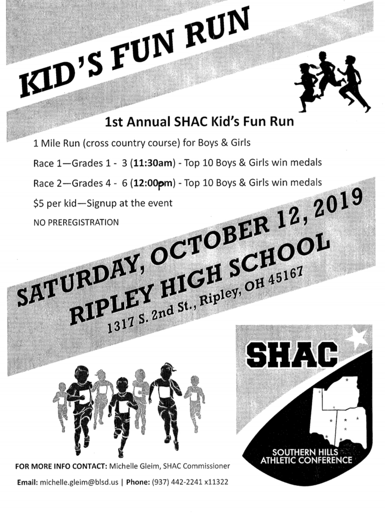 Cross Country Kids Fun Run